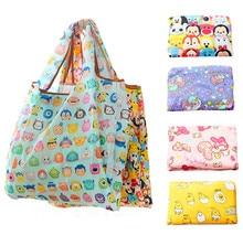 Cartoon Tsum Tsum Hello Kitty Big Foldable Reusable Shopping Bags My Melody Eco  Shopper Bag Large 97e1d1225f