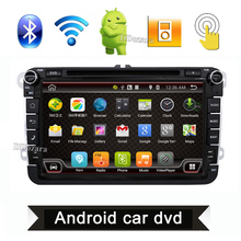 2 din tape recorder Aux gps Quad Core android 6.0 car dvd player TV For VW Skoda POLO GOLF 5 6 PASSAT CC JETTA TIGUAN TOURAN