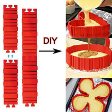 4 Pcs/set Silicone Bakeware Magic Snake Cake Mold Pastry BackingTools All Kinds of Cake Mould