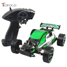 TOFOCO 2.4G High Speed Rc Car Drift Dirt Bike Climbing Cars Radio-Controlled Toys For Boys Machine Remote Control Car Electric(China)