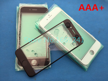 10pcs/lot NEW Replacement LCD Front Touch Screen Glass Outer Lens for iphone 6 4.7inch Oleophobic coating high quality AAA+