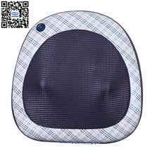 HFR-858-5D HealthForever Brand DC12V Back Kneading Rolling Shiatsu Full Body Lumbar Home&Car Massage Cushion Electric Pillow(China)