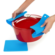 1PCS Hot Non-Slip Nonstick Silicone Baking Mat Pads Grid Cellular Silicone Mat Insulation Pad Baking Mats For Kitchen Bakeware(China)