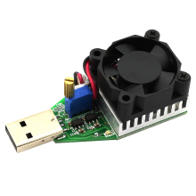 Mini USB 0.15A-3A Electronic Load Tester Module Adjustable Constant Current for 3.7V~13V 15W Continuous Discharge(China)