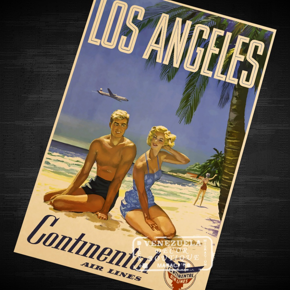 Stickers Los Angeles PromotionShop For Promotional Stickers Los - Los angeles posters vintage
