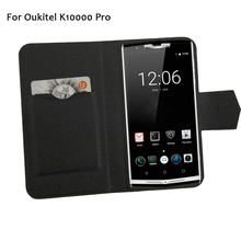 5 Colors Hot! Oukitel K10000 Pro Phone Case Leather Cover,2017 Factory Direct Fashion Luxury Full Flip Stand Leather Phone Cases