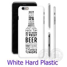 Beer Bottle Number White Phone Case Cover for iPhone 6 6S 7 Plus 5S 5 SE 5C 4 4S  ( Soft TPU / Hard Plastic for Choice )
