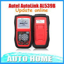 [AUTEL Dealer] 100% Original Autel AutoLink AL539B OBDII Code Reader & Electrical Test Too Free shipping 3 Years Warranty
