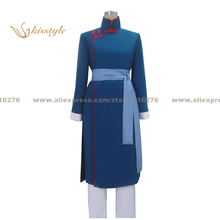 Kisstyle Fashion Black Butler Lau Uniform COS Clothing Cosplay Costume,Customized Accepted(China)