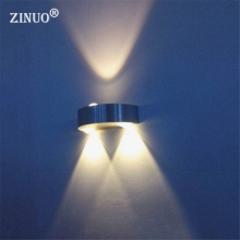 ZINUO 3W Modern LED Wall Light AC85-265V For Home Bathroom Bedroom Surface Mounted Led Wall lamp Led Spot light For Home/KTV/bar