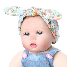 1Pc Stylish Baby Kids Girls Children Rabbit Ears Hair Band Turban Knot Headband Hair Accessories