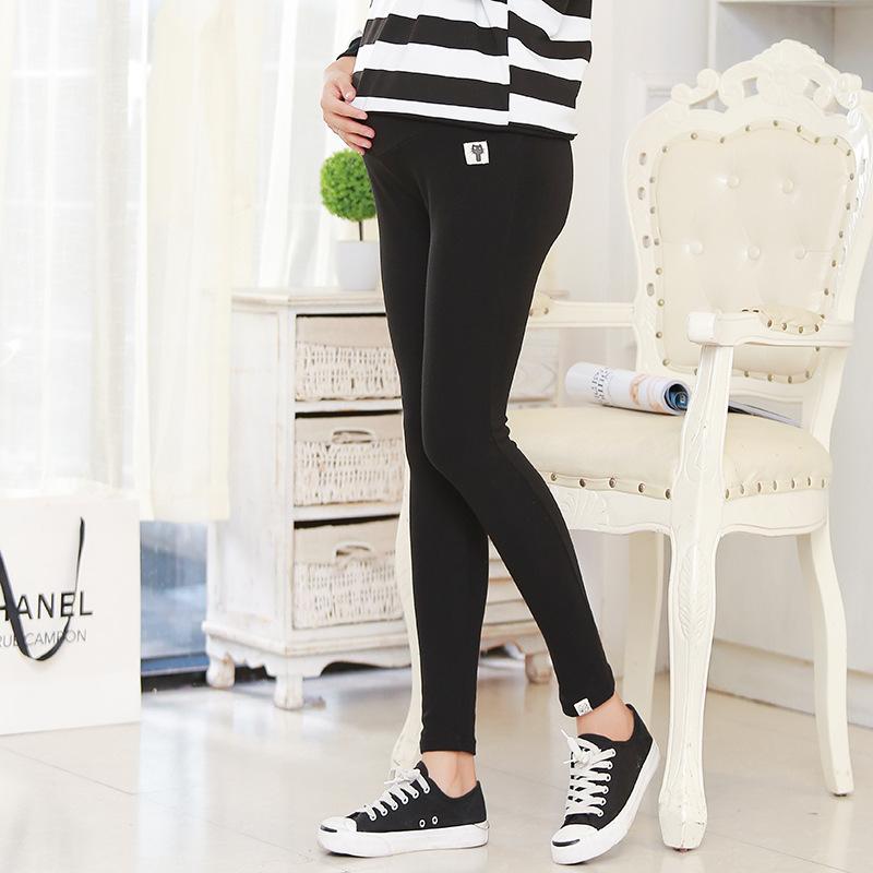 Plus Size Winter Velvet Pregnancy Leggings Pants For Pregnant Women Maternity Leggings Warm Clothes Thickening Trousers Clothing 3
