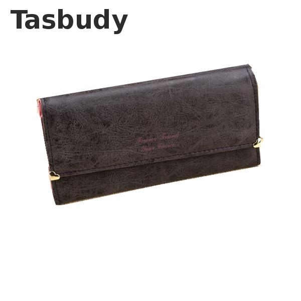 Dual Heart Matte PU leather women wallet long HASP women purse female coin purse<br><br>Aliexpress