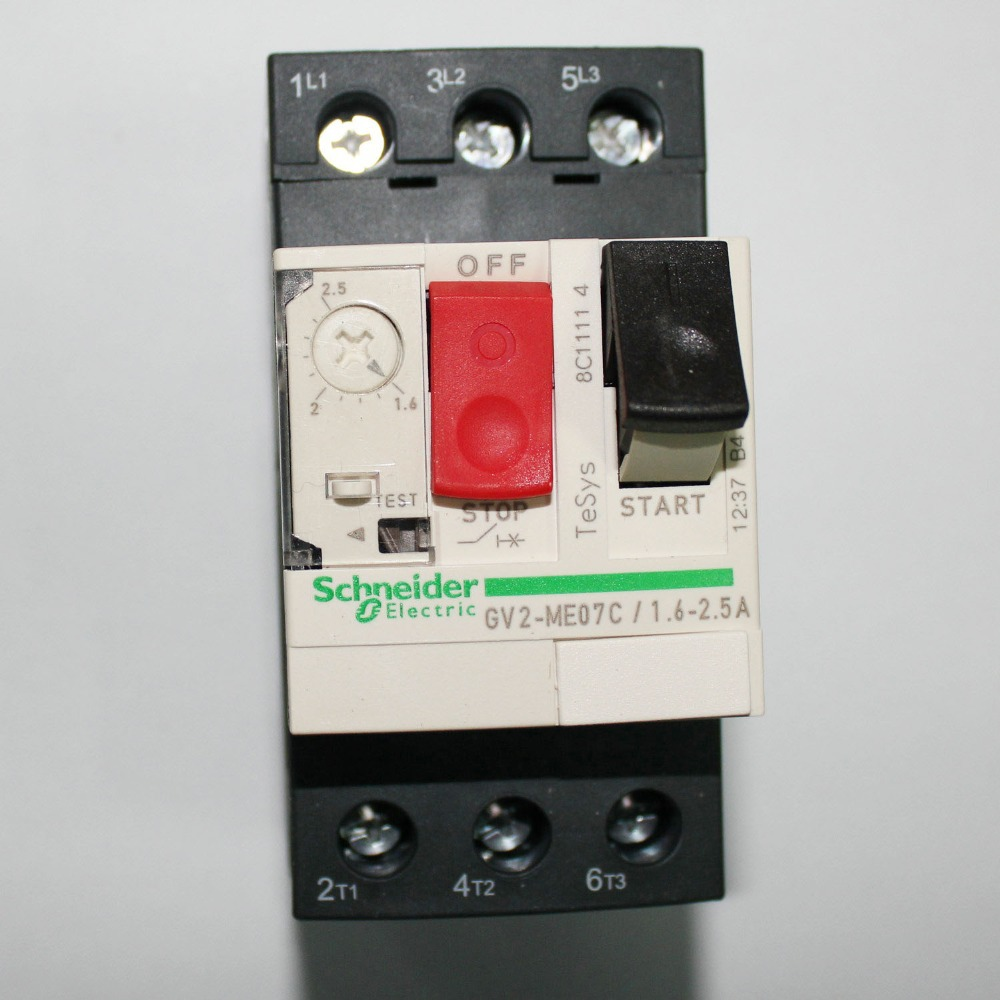 GV2ME07C 1.6-1.25A Motor Circuit Breaker  New<br><br>Aliexpress