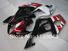 For SUZUKI GSX-R1000 K3 03 04 Black Red B325 GSX R1000 K3 GSXR 1000 2003 2004 GSXR1000 Fairing Kit