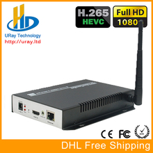 China Supplier HEVC HDMI IP RTSP Wireless Encoder H.265 /H.264 HD Video WIFI Encoder IPTV Youtube Live Streaming RTMP Encoder
