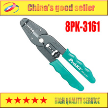 Free Shipping! Brand Proskit 8PK-3161 Wire Stripper And Cutter Hand Tool Nippers,Wire Stripping Pliers,Crimping Pliers