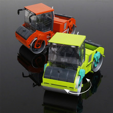 Alloy Truck Model 1:35 Rising Double Steel Roller Original Factory Simulation Children Toy  Birthday Gift Christmas Gift