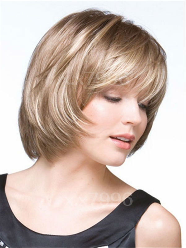 sexy female short straight brown blonde mixed bob hair womens wigs cosplay party + free wig cap sw0016<br><br>Aliexpress