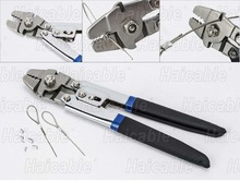 Haicable HL-700B Fishing Crimping Tool pliers With Aluminum Or Brass Sleeves  Max Dia. 2.2mm Wrie Rope Fishing Crimper