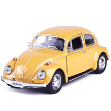 1:32  Diecast Models Car Toys, Doors Openable Bettle Toy , Miniature Pull Back Cars