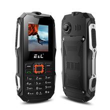 Original EL E&L K6900 Cellphone 2000mAh Waterproof Shockproof Smartphone Quad Band Unlock Phone IP68 Flashlight Dual Sim GSM(China)