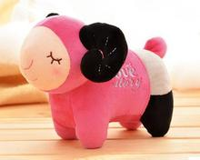 Cartoon cute plush toys sheep creative doll 20cm giant stuffed animals lama 6 kinds of color kawaii