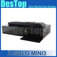 Original X SOLO MINI 3 Dual DMIPS Processor HD 1080P Satellite Receiver 4GB Serial Flash 1GB DDR3 with DVB-S2+DVB-T2/C(China)
