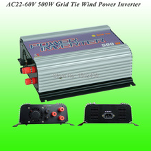 2017 Hot Selling 500W Three Phase AC22V~60V Input, AC 115V/230V Output SUN-500G-WAL Grid Tie Wind Power Inverter