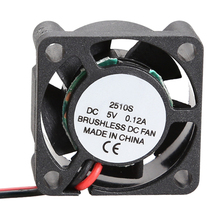 2510S 5V Cooler Brushless DC Fan 25*10mm Mini Cooling Radiator High Quality(China)