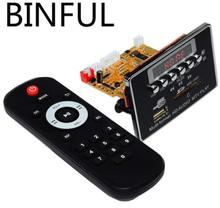 12V Stereo Music Wireless Bluetooth 4.2 Video Decoder Board RM / RMVB FLAC APE BT MP3 JPEG PNG AUX U Disk and TF USB FM