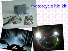 12V 35W 4300K Good quality mini Motor/Motorcycle Bike Hid Lights Kit H6 Hi/Low Xenon Bulbs Headlamp Free shipping