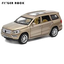 1:32 6 Doors Can be Opened's GL500 Simulation Car Model Boys Pull Back Matte Diecast Metal Vehicles Acousto-optic Alloy Car Toys(China)