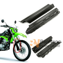 Motorcycle Fork Shock Absorber Guards Protector Dustproof Waterproof Board Absorption Cover for Kawasaki KDX 125 200 250 KLX250