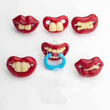 Baby Pacifier Funny Tooth Character Silicone Nipples For Kids Care 7 Styles