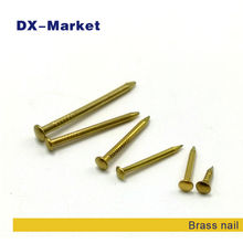1.2*12mm , 2000pcs , brass nails high quality accessories , m1.2 woodworker nails