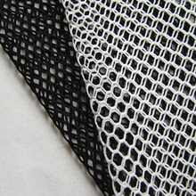 1yard Designer Fashion Classic Hollow Rhombic Mesh Fabric French High Quality Drape Sport Apparel Fabric DIY Sewing Cloth Tissus(China)