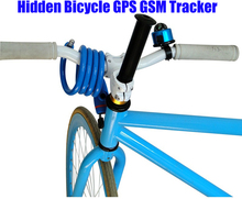 2017 Newest Bicycle GSM/GPRS GPS Mini Hidden Bike Tracker GPS305 Quad Band Real-time Google Map Tracking Sim Card Slot