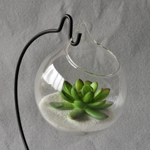 Hanging Glass Vase Hanging Terrarium Glass Vase Hydroponic Flower Indoor Office Home Decor Ornament