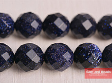 Free Shipping Natural Faceted Blue Sand Stone Round Beads 15.5inch/strand Pick Size 4 6 8 10 12mm FBSB09