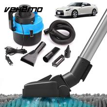 Vehemo 12V Wet Dry Vac Vacuum  Cleaner Inflator Portable Turbo Hand Held for Shop