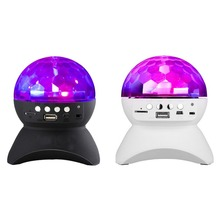 Mini Party/ Disco DJ Bluetooth Speaker With Built-In Light Show,Stage & Studio Effects Lighting, RGB Color Changing, LED Crystal