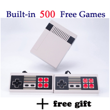 MYOHYA Mini Retro TV Handheld Game Console Video Game Console mini Games player Built-in 500 Different Games dual gamepads