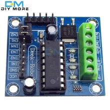 Mini 4-Channel Motor Drive Shield Expansion Board L293D Module High Voltage Current Module For Arduino UNO MEGA 2560