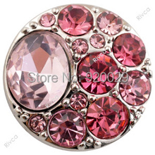 D00956 OEM ,ODM welcome hot sale  metal snap pink button for button bracelet