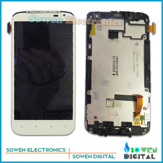 for HTC Sensation XL X315e G21 LCD display screen with touch screen digitizer with frame assembly full set<br><br>Aliexpress