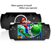 New MP3 MP4 MP5 Portable Multimedia Player Digital Video Camera 8GB PMP Handheld Game Player with Camera Recorder Video Games