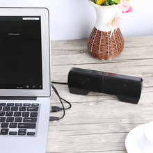 Universal USB 2.0 Wired Mini Portable Multimedia Computer Stereo Speaker 3.5mm Audio Jack For Laptop Desktop PC Free Shipping(China)