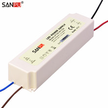 SANPU SMPS 24V 100W LED Power Supply Waterproof 4A Constant Voltage Switch Driver 220V 230V AC-DC Light Transformer IP67 White(China)