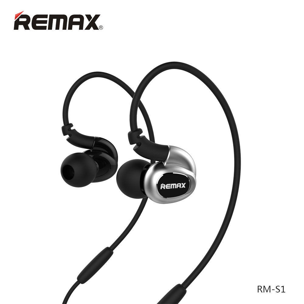 Remax High Fidelity Stereo Sounds Ear Hook Earphone High Performance Precise Deep Bass Headphone for iPhone 5 6 6s Android Phone<br><br>Aliexpress